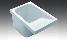 Burgos-2, es un lavadero con diseños creados atendiendo, sobre todo, a la facilidad, utilidad y comodidad de su empleo. Piezas neutras que se pueden incorporar a cualquier espacio.