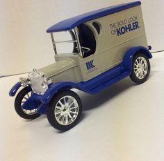 Ertl Collectibles Die-Cast Metal Vehicle Bank Chevrolet 1923 Chevy Kohler Co. #ERTL