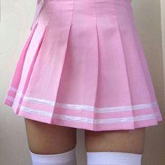 She wears short skirts  ~ Aesthetic ~