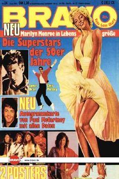 1978 June issue: Bravo (German) magazine cover of Marilyn Monroe  .... #normajeane #vintagemagazine #pinup #iconic #raremagazine #magazinecover #hollywoodactress #monroe #marilyn #1970s