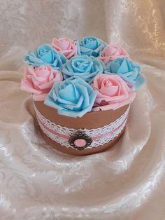 "Blanche Fleur virágdoboz - ""Candy-floss"""