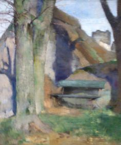 Helene Schjerfbeck, Landscapes, Paintings, Artists, Fine Art, Inspiration, Expressionism, Abstract, Paisajes