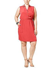 Alfani Womens Plus Button-Down Casual Shirtdress Pink 22W... https://www.amazon.com/dp/B074HG8NM1/ref=cm_sw_r_pi_dp_x_esc2zbYKHC3B0