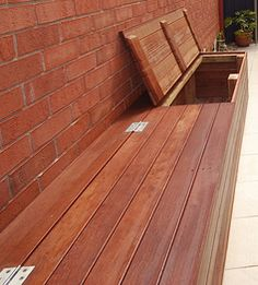 Merbau Decking Benches
