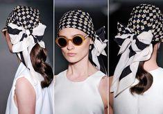 Amarre-se: lenço é o acessório-chave do verão 2014. Aprenda diferentes formas de usar