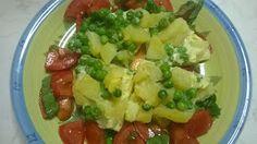 Dolcilandia e non solo...: Tortino leggero di patate e piselli