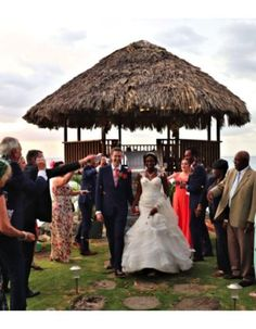 Our Wedding Ceremony At Firefly St Mary Jamaica Photo Credit