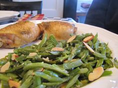 Green Beans Almondine ~ Faithfulness Farm