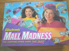 1996 MILTON BRADLEY ELECTRONIC MALL MADNESS GIRLS SHOPPING SPREE GAME COMPLETE #MiltonBradley