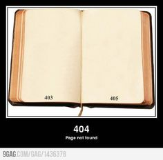 404 Page not found.