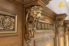 Unfinished Carved Wood Pair Corbels - Lion Trendy Exterior Home Ideas Stones Landscaping Ideas Concept Two Seat BMW Decorative Corbels, Wooden Corbels, Wooden Console, Door Design, House Design, Design Homes, Design Room, Wood Carving Faces, Wal Art