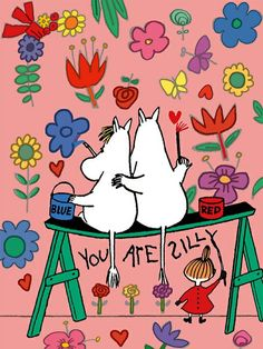Little My Moomin, Moomin Wallpaper, Moomin Mugs, Moomin Valley, Cartoon Photo, Tove Jansson, Cute Backgrounds, Grafik Design, Children's Book Illustration