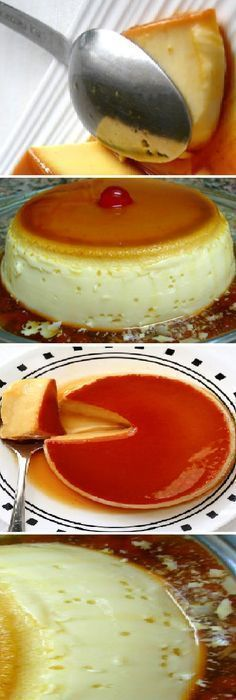 Recipes cake chocolate 29 ideas for 2019 Mexican Food Recipes, Sweet Recipes, Cake Recipes, Dessert Recipes, Food Cakes, Bolo Flan, No Bake Desserts, Just Desserts, Flan Recipe