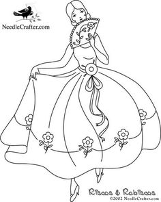 embroidery/applique pattern