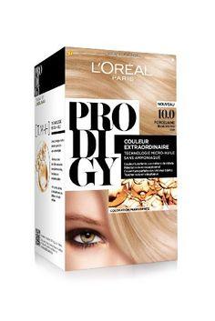 loral paris prodigy coloration blonde sans ammoniaque micro huile 100 porcelaine - L Oreal Coloration Blond