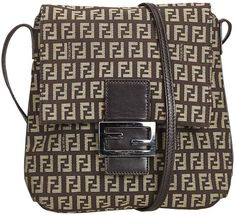 321d7c8ec8 Fendi Vintage Brown Cloth Handbag Louis Vuitton Damier, Fendi, Handbag  Accessories, Crossbody Bag