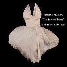 Знаменитое платье Мэрилин Монро (выкройка и видео мастер-класс по шитью)