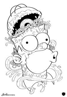 Coloring Book Art, Cute Coloring Pages, Disney Coloring Pages, Colouring, Tumblr Coloring Pages, Badass Drawings, Cool Art Drawings, Art Drawings Sketches, Art Illustrations