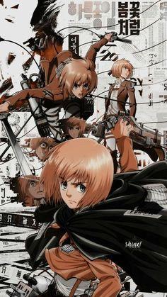 Armin, Mikasa, Wallpaper Animes, Aot Wallpaper, Cute Anime Wallpaper, Anime Backgrounds Wallpapers, Animes Wallpapers, Anime Collage, Vegito Y Gogeta