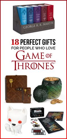 """18 Perfect Gifts For People Who Love """"Game Of Thrones"""""""