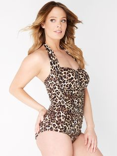 Riviera Tank Suit - Ruby Ribbon is absolutely gorgeous and super flattering! Flattering Swimsuits, Plus Size Swimsuits, Comfortable Fashion, Retro Fashion, Bathing Suits, Ribbon, One Piece, Clothes For Women, How To Wear