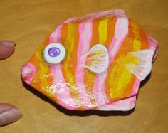 painted rock fish – Etsy