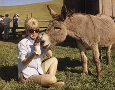 Doris Day and a friend