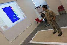 Real-time imaging of walking patterns