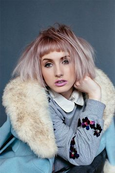 #Keune #tactilerituals Use our new 9.15 Tinta Color in Very Light Ash Mahogany Blonde to recreate this look.