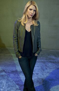 Claire Danes as Carrie Mathison in Homeland.  Photograph: Showtime/Nadav Kander