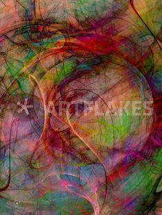 """""""Farbenfroh"""" Digital Art als Poster und Kunstdruck von claudiag bestellen. - ARTFLAKES.COM"""