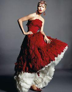 Alexander McQueen #red