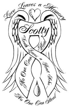 """suicide ribbon tattoos 