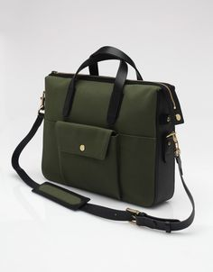 Mismo - M/S Briefcase In True Green