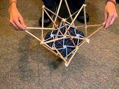 Estructura de Membrana Desplegable - Tijeras Rectas Exentricas Completo…