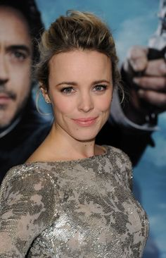 Take a cue from Rachel McAdams' recent look: Twist and pin multiple sections instead of just one to create a more intricate, intriguing bun. Wouldn't this look lovely with a slinky lace gown or formal, full frock?