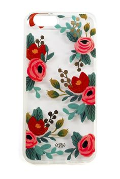 A lovely painting, just for your phone! Rosa IPhone 6 case, $36.