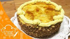 Tarta de crema pastelera