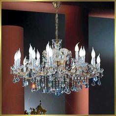 18 lights chandelier dressed with blue sky crystals beautiful bedroom chandelier C9046 90cm W x 50cm H