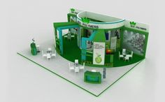 Exhibition Stand Designs by Saleem Ali at Coroflot.com