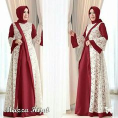 New party dress fashion simple ideas Batik Fashion, Abaya Fashion, Fashion Dresses, Fashion Sewing, Hijab Dress Party, New Party Dress, Islamic Fashion, Muslim Fashion, Dress Brokat