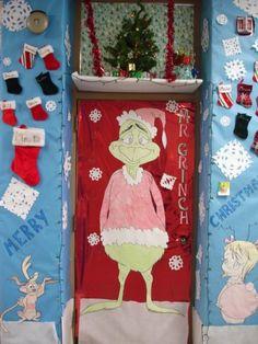 Image detail for -... Islander - Garaway High School - Christmas Door Decorating Contest