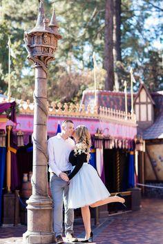 Disneyland Holiday Engagement: Jaime and Jason Disney Engagement Pictures, Disneyland Engagement Photos, Disney Engagement Rings, Disney Pictures, Picture Ideas, Photo Ideas, Disney Romance, Wedding Pictures, Wedding Ideas