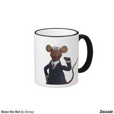 Rizzo la rata taza de dos colores #taza #mug