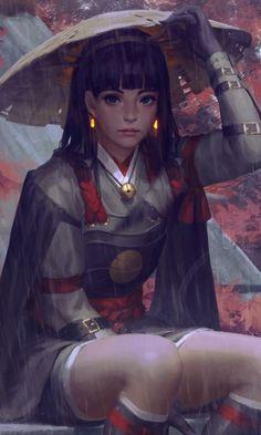 Fantasy Character Design, Character Inspiration, Character Art, Fantasy Characters, Female Characters, Character Illustration, Illustration Art, Female Samurai, Chica Gato Neko Anime