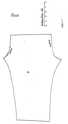 hoseV.gif (862×1559) Ken pants pattern (german Elegant suit pattern)