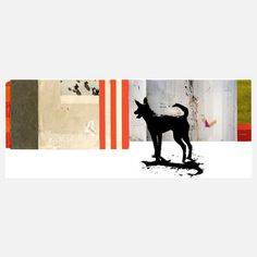 collage. Dog Print, 82€, now featured on Fab.