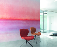 Collection ATELIER : Modernité, douceur, papier peint, fauteuils
