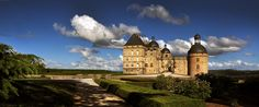Château de Hautefort, Dordogne, France, one of the filming locations for Ever After