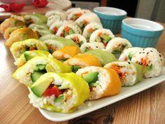 LizzyGoesDutch: Vegetarian Sushi